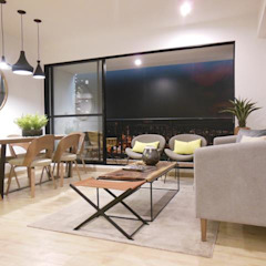 Espectacular Apartamento Club House 3 Alcobas 3 Baños 2 Garajes Salas modernas de AlejandroBroker Moderno