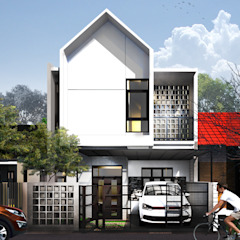 GE-House Oleh 3.se studio Modern Beton