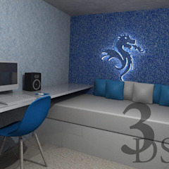 Quarto do Dragão por FaustoDecor Moderno