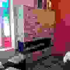 Kominki Miro-Les Foyers Living room Stone Brown