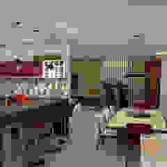 Salas e Cozinha Integrada Cozinhas ecléticas por GNS | Arquitetura & Interiores Eclético