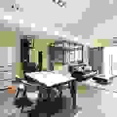 低調 奢華 沙瑪室內裝修有限公司 现代客厅設計點子、靈感 & 圖片