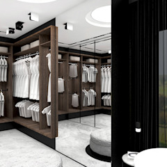 FIND YOUR WAY HOME | II | Wnętrza domu Nowoczesna garderoba od ARTDESIGN architektura wnętrz Nowoczesny