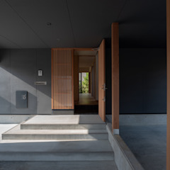 Oleh 家山真建築研究室 Makoto Ieyama Architect Office Minimalis