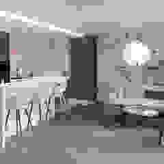 M2 Architektura Modern living room