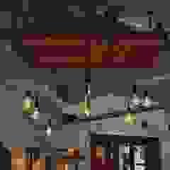Lamparas Vintage Vieja Eddie Офісні приміщення та магазини Дерево Різнокольорові