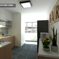 Asian style kitchen by Swish Design Works Asian