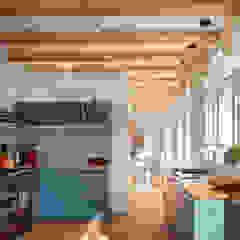 Woonhuis Petten verbouwing en interieur van robin hurts architect Scandinavisch Tegels