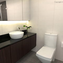 Jalan Tiga Classic style bathroom by Swish Design Works Classic