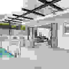 Clearwater Bay House Modern balcony, veranda & terrace by Original Vision Modern