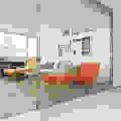Stanley Penthouse Minimalist media room by Original Vision Minimalist