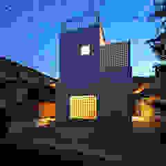 アトリエ スピノザ Rumah Gaya Skandinavia Beton White
