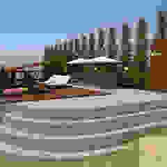 Projeto de Área Gourmet em Lagoa Santa Piscinas rústicas por GNS | Arquitetura & Interiores Rústico