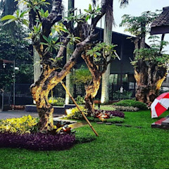 Spesialis Tukang Taman Oleh Tukang Taman Surabaya - Tianggadha-art Tropis Batu