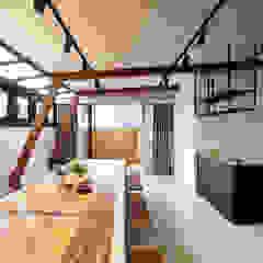 Hiên, sân thượng phong cách công nghiệp bởi 舍子美學設計有限公司 Công nghiệp
