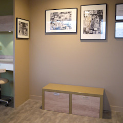 Cabinet Dentaire Chollet MIINT - design d'espace & décoration Cliniques originales Beige