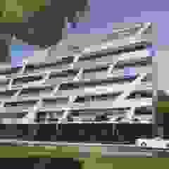 Edificio multifamiliar por Miguel Salvadorinho Arquitecto Minimalista Alumínio/Zinco