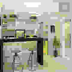 Scandinavian style garage/shed by MD&D Arquitetura e Interiores Scandinavian