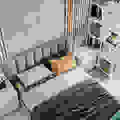 Industrial style bedroom by Mstudio Industrial