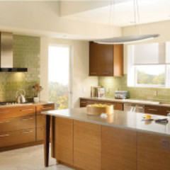 Shades and Blind Control by Integrated Home and Office Modern