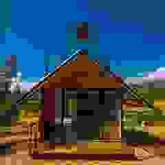 Refugio Toibita de Camacho Estudio de Arquitectura Rural Derivados de madera Transparente