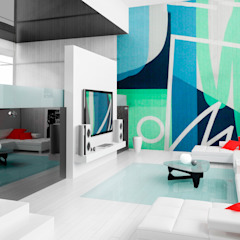 Arca México Modern living room