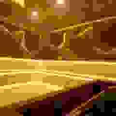 by SunCare Spa Uygulamaları Modern Wood Wood effect