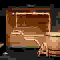 de TES_tudio Industrial Derivados de madera Transparente