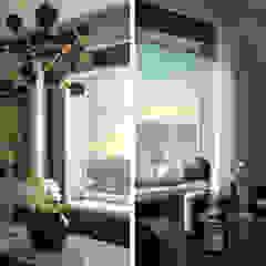 Molteni & C Furnished Penthouse, Estados Unidos Hotéis eclécticos por DelightFULL Eclético Cobre/Bronze/Latão