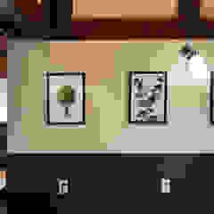 카페 인테리어 CAFE INTERIOR_부산인테리어 아시아스타일 벽지 & 바닥 by 감자디자인 한옥