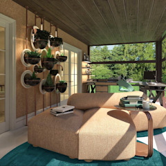 Modern style conservatory by BJORNSON&CHELET CONCRETE FURNITURE Modern