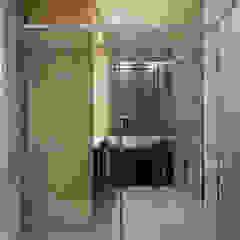 80PY대 아파트 인테리어 APT INTERIOR_부산인테리어 트로피컬 욕실 by 감자디자인 휴양지