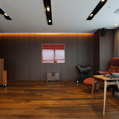 59PY 아파트 인테리어 APT INTERIOR_부산인테리어 아시아스타일 거실 by 감자디자인 한옥