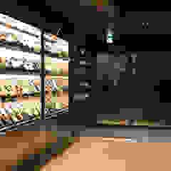 레스토랑 인테리어 RESTAURANT INTERIOR_부산인테리어 아시아스타일 다이닝 룸 by 감자디자인 한옥