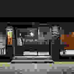 레스토랑 인테리어 RESTAURANT INTERIOR_부산인테리어 by 감자디자인 에클레틱 (Eclectic)