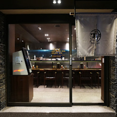 레스토랑 인테리어 RESTAURANT INTERIOR_부산인테리어 에클레틱 다이닝 룸 by 감자디자인 에클레틱 (Eclectic)