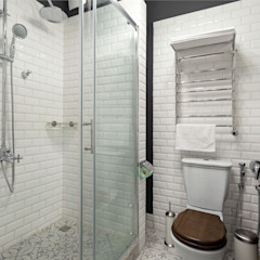 Квартира в скандинавском стиле Ванная комната в скандинавском стиле от Tatiana Nikitina Photography Скандинавский