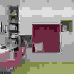 Pokój dwóch dziewczynek Nowoczesny pokój dziecięcy od Polilinia Design Nowoczesny