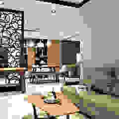 客廳 Modern Living Room by 璞玥室內裝修有限公司 Modern Metal