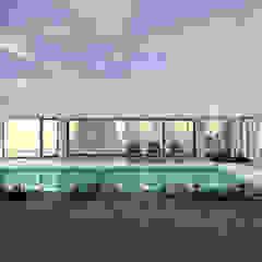Casa da Piscina | Azeitão por ATELIER OPEN ® - Arquitetura e Engenharia Moderno Cerâmica