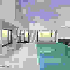 Casa da Piscina | Azeitão por ATELIER OPEN ® - Arquitetura e Engenharia Clássico Azulejo