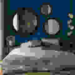 Egzotyczna sypialnia od ILAB2.0 Design Studio Egzotyczny