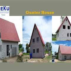 Reference Project โดย DeKu German Windows Co.,ltd ชนบทฝรั่ง พลาสติก