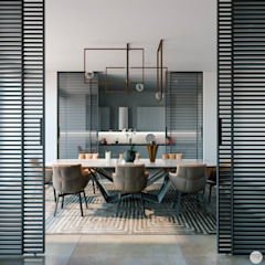 mcp-render Modern Dining Room