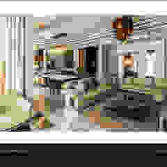 Private residence - Palm Hills Golf من Reham Ezzeldin Design Studio تبسيطي