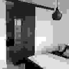 Rimadesio Stripe schuifdeur op maat van Noctum Modern Aluminium / Zink