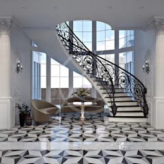 Neoclassical Palace Design by Comelite Architecture, Structure and Interior Design Classic