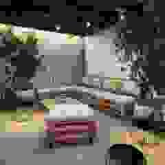 Terraza Balcones y terrazas rústicos de Minkarq. Arquitectura y construcción Rústico