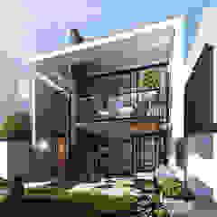 CASA PRADO Casas modernas: Ideas, diseños y decoración de INSPIRA ARQUITECTOS Moderno