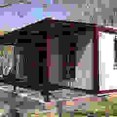GÖKSAN PREFABRİK SAN.TİC.LTD.ŞTİ Classic style conservatory Iron/Steel White